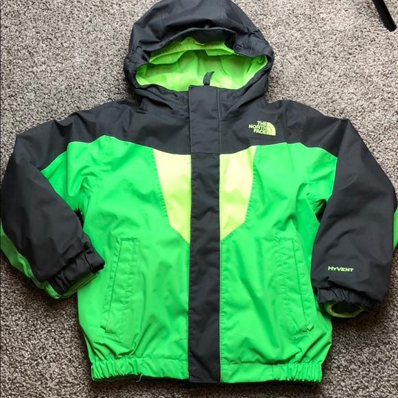 d9ace3a73 Boys North Face HyVent jacket 4t